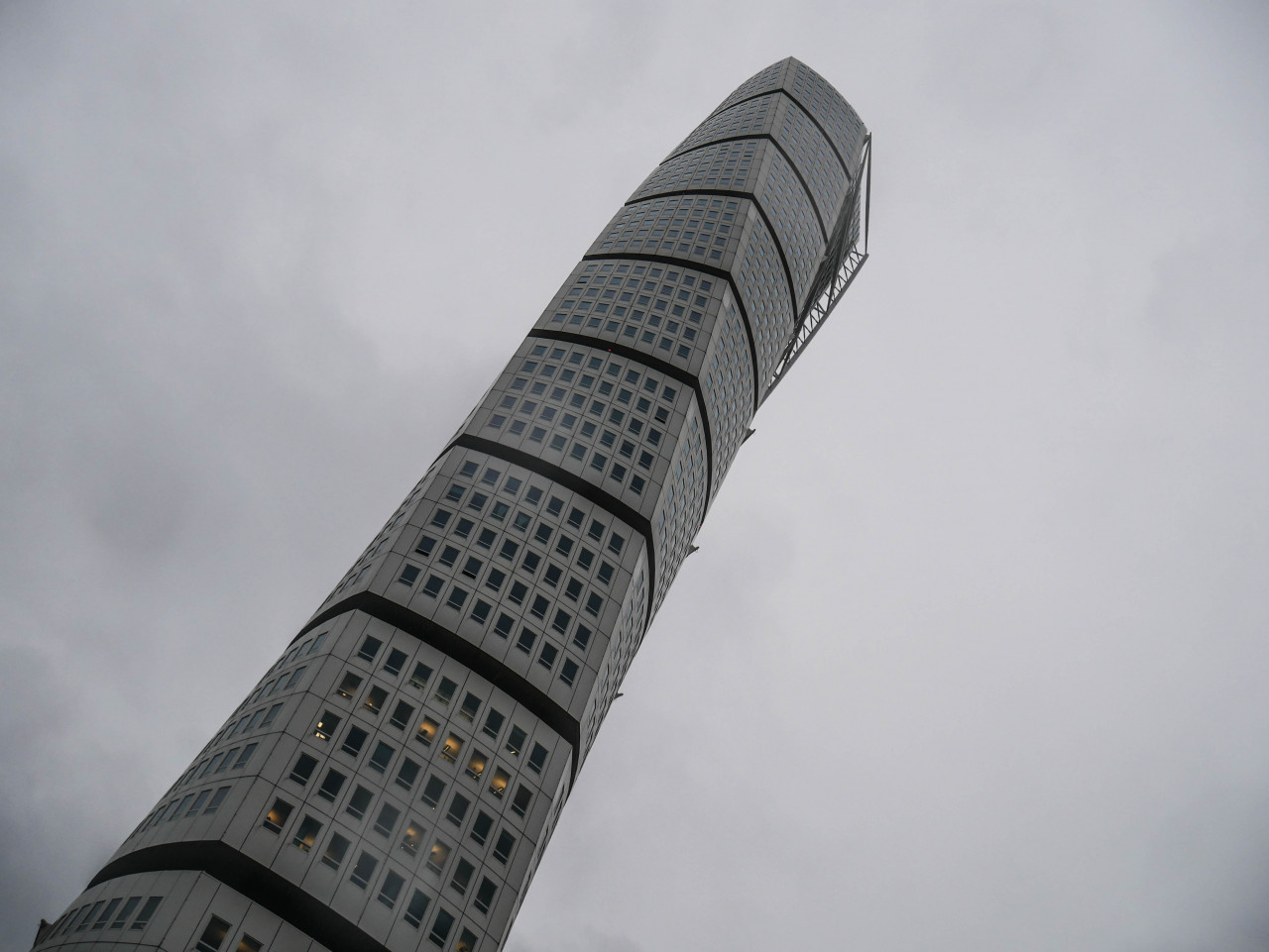 ...the famous Turning Torso, the tallest building in Scandinavia (190 metres).