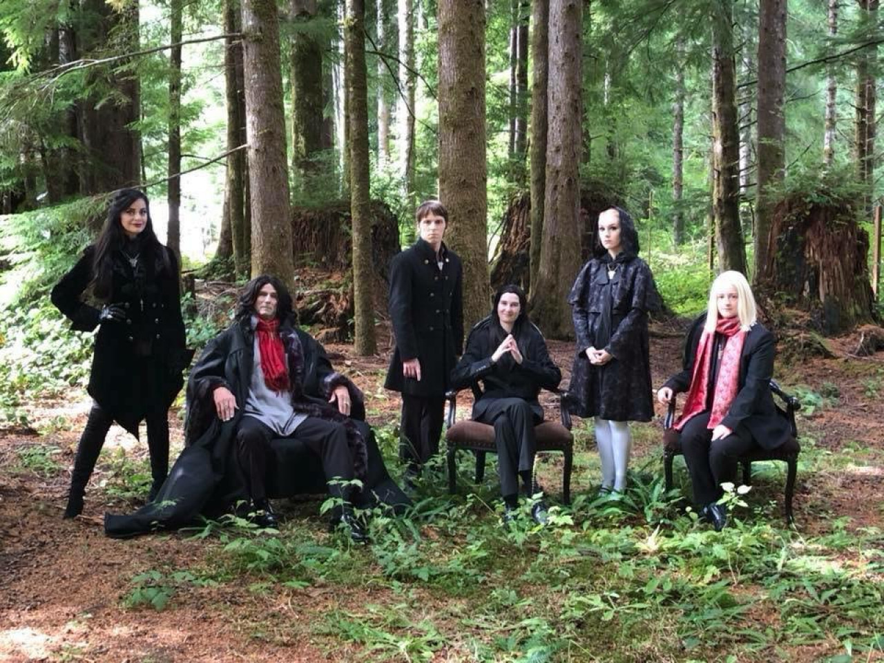 The Volterra Coven at the Forever Twilight in Forks Festival 2018