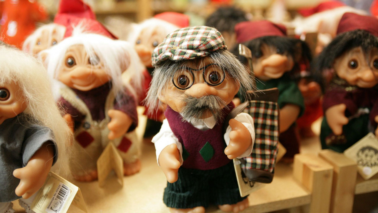 The original factory of the Troll Dolls has recently been turned into a museum.