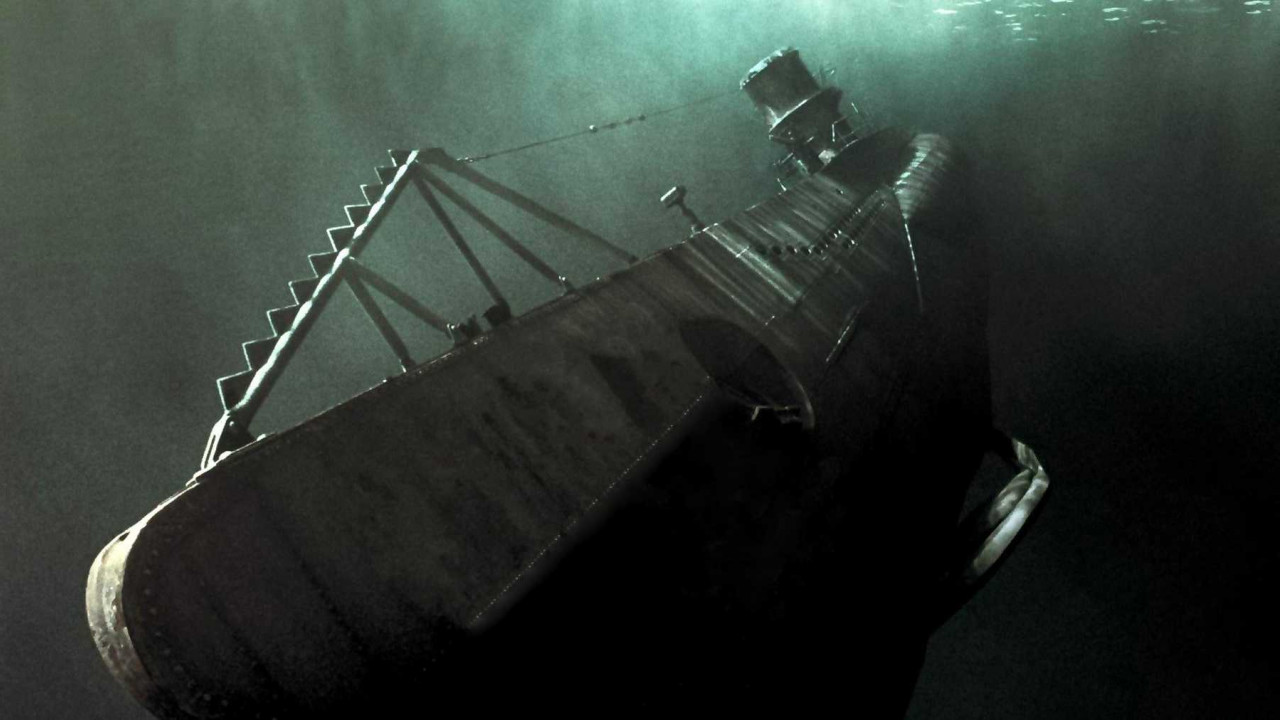The U-boat as seen in the film U-571.