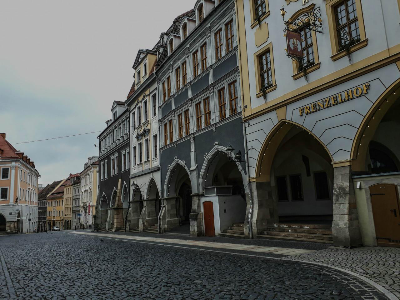 ...theFrenzelhof, a 500 year old hotel.