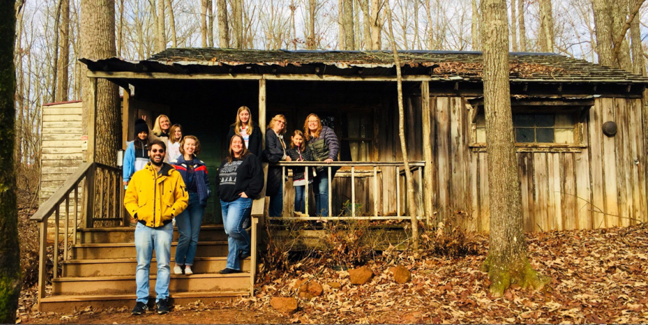 Sheriff Hopper's cabin is best accessed through the Upside Down Tour run by Atlanta Movie Tours.