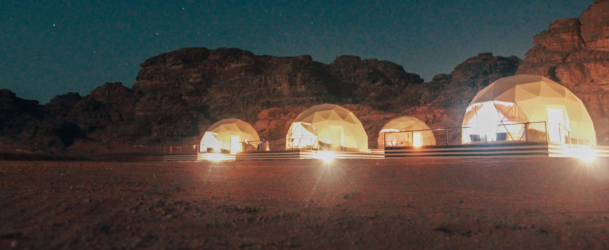 Spend a Night on Mars