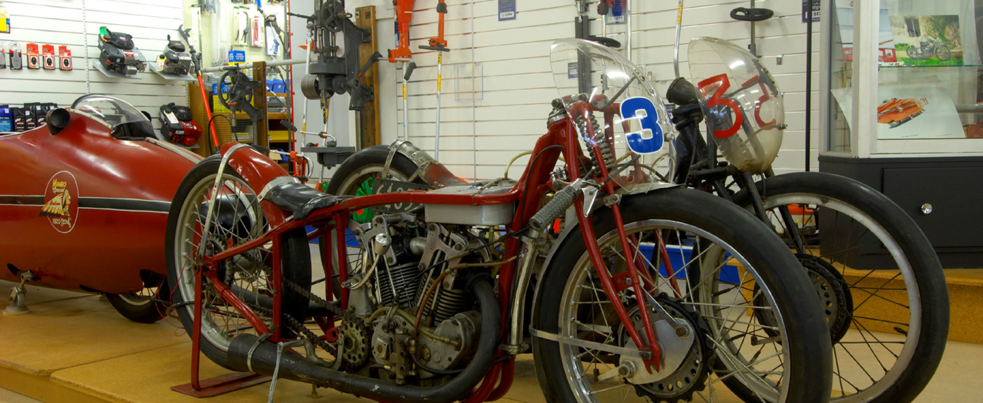 Visit the original 'Munro Special Indian Scout'