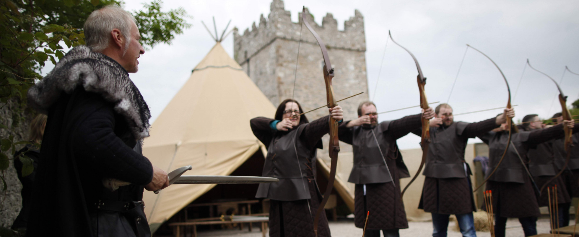 Archery at Castle Winterfell