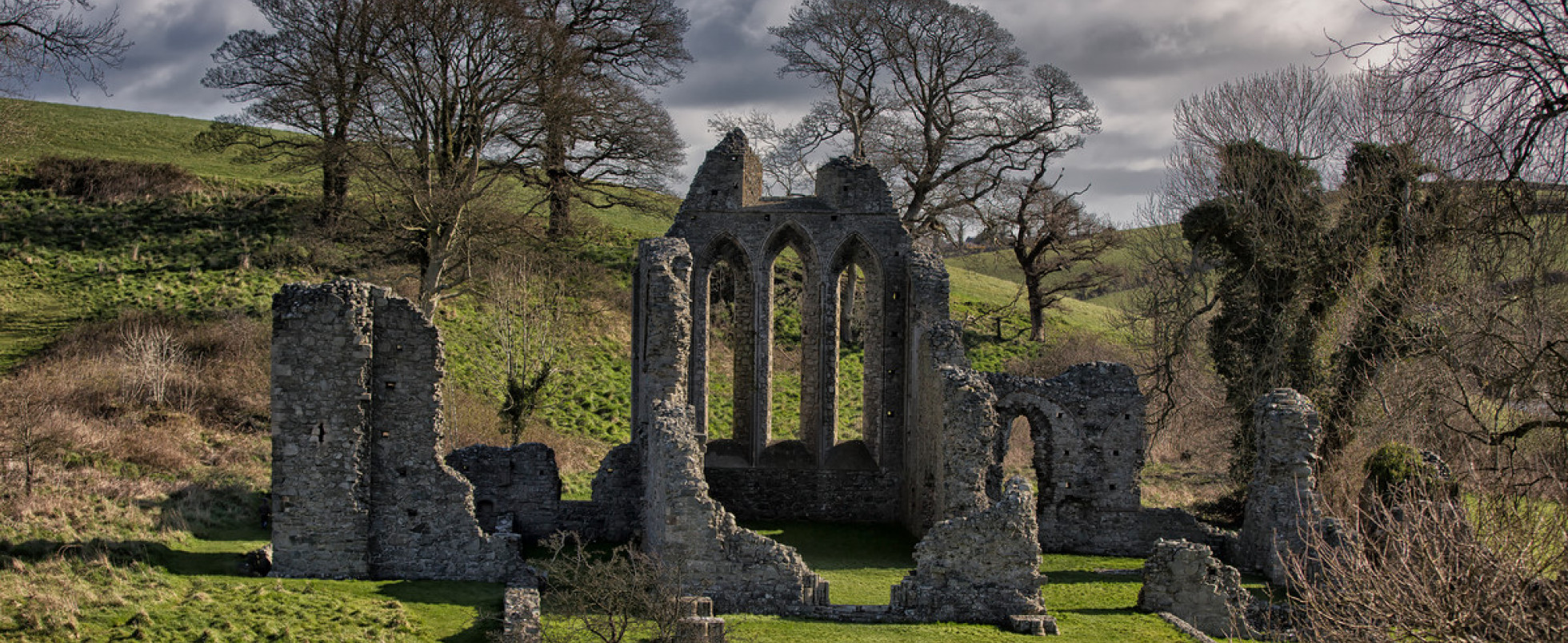 Inch Abbey: Robb Stark's Camp in the Riverlands