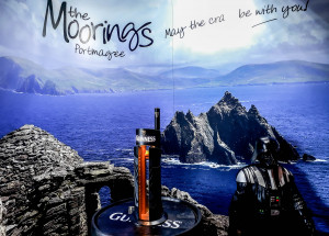 The Moorings Portmagee: Pull a Pint like a Jedi