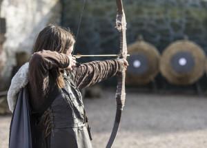 Archery at Castle Winterfell