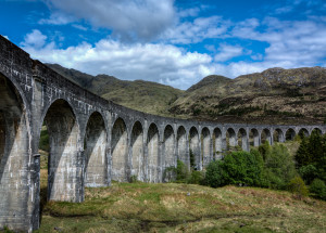 Glenfinnan Viaduct: On Route to Hogwarts