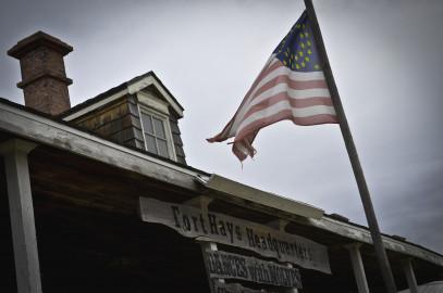 Fort Hays Film Set