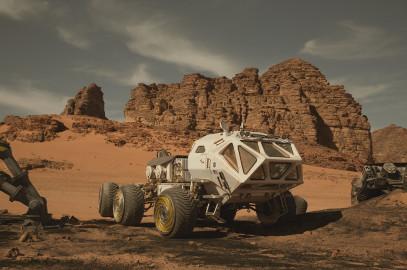 Mark Watney's Rover