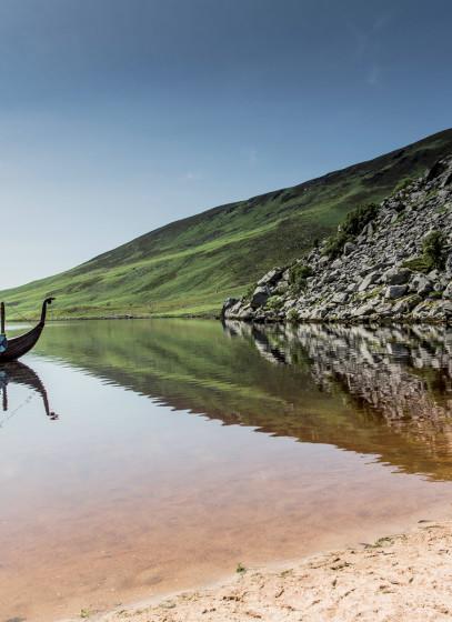Lough Tay, Ireland: Vikings