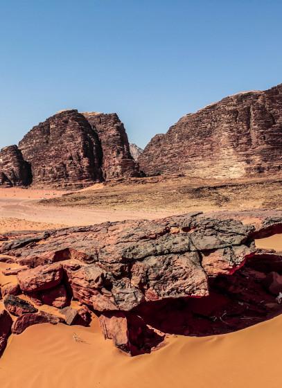 Wadi Rum: Mars