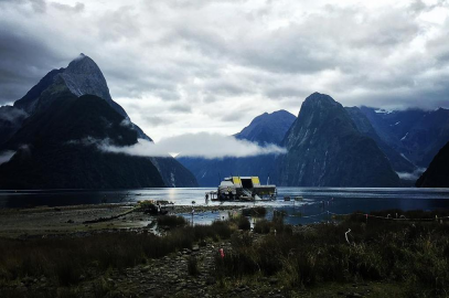 Milford Sound, New Zealand: Alien - Covenant