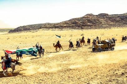 Train Ride 1916: Raiders from the Desert