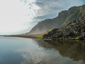 Karekare Beach, New Zealand: The Piano