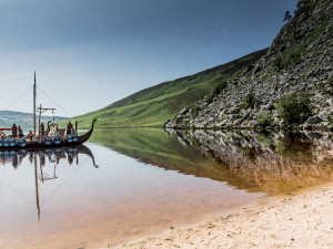 Lough Tay, Ireland: Vikings