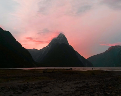 Alien in Milford Sound
