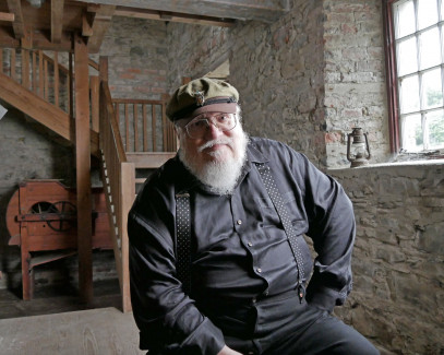 GRRM in Winterfell